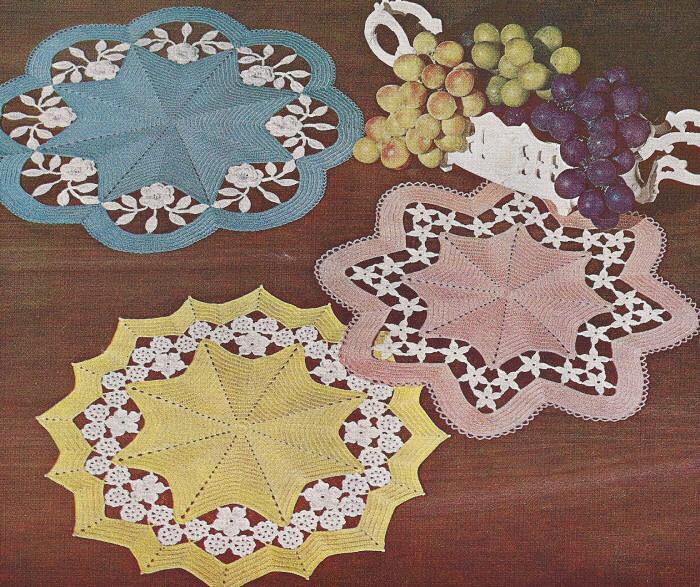 mUahvintage-crochet-pattern-flower-cutwork-applique-doily