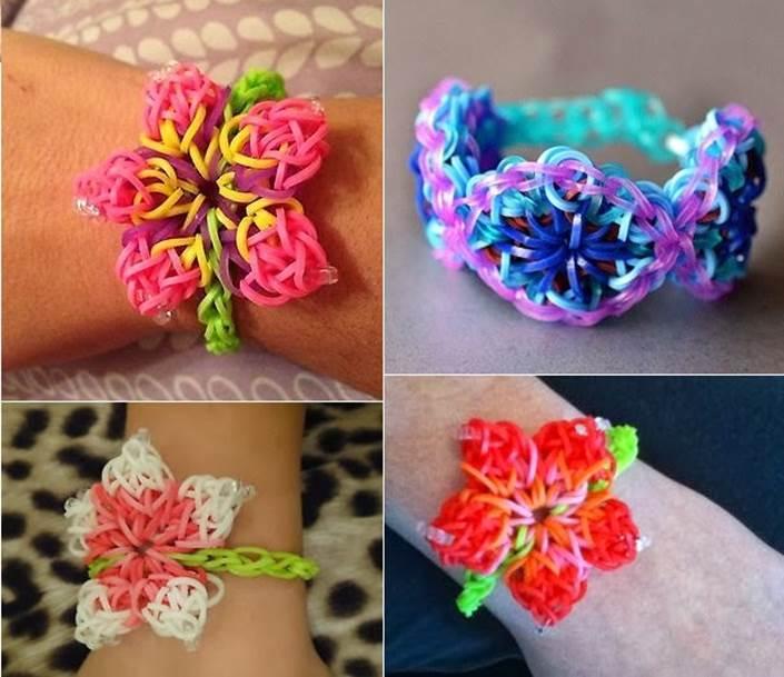 How-to-DIY-Hibiscus-Flower-Rainbow-Loom-Pattern-Bracelet