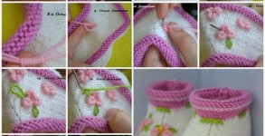 How-to-Make-Pretty-Knitted-Baby-Booties