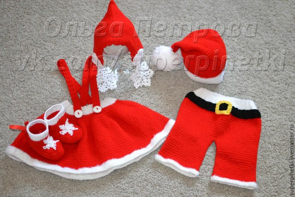 Crochet with santa claus