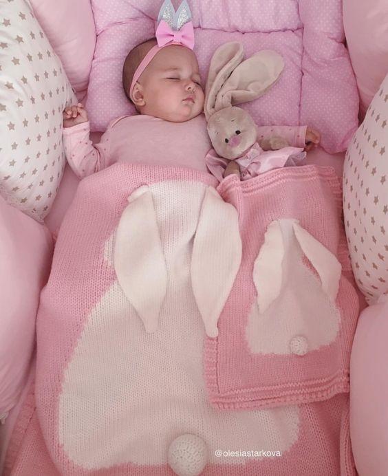 Baby blanket toy crochet pattern