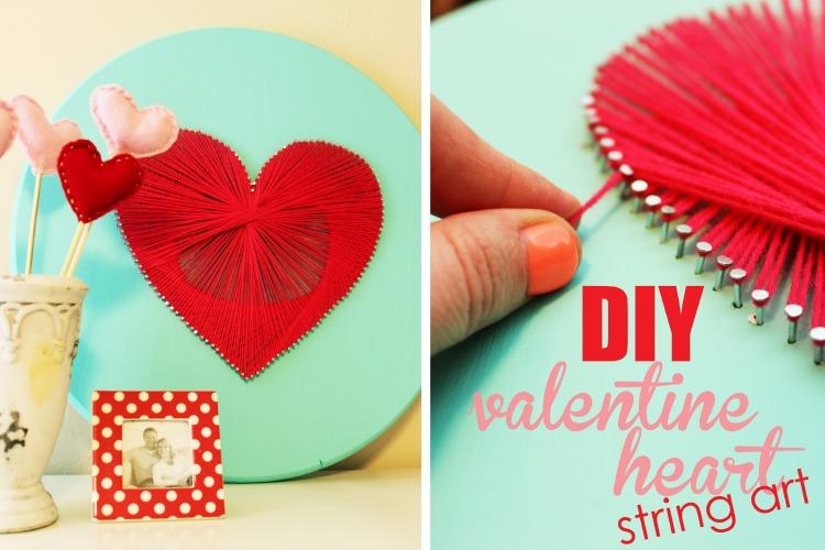 Diy Valentine Day Kartolina Pe Rshen Valentinin Diy Craft